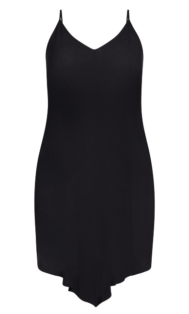Sweet V Dress - black