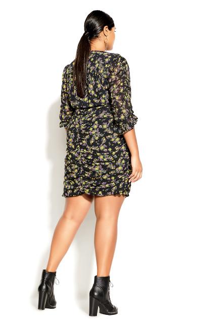 Sweet Violet Dress - black