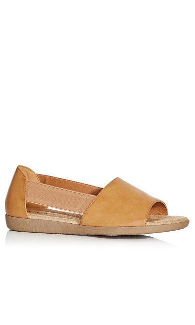 Plus Size Peyton Sandal - tan