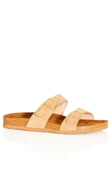 Plus Size Nelly Sandal - tan
