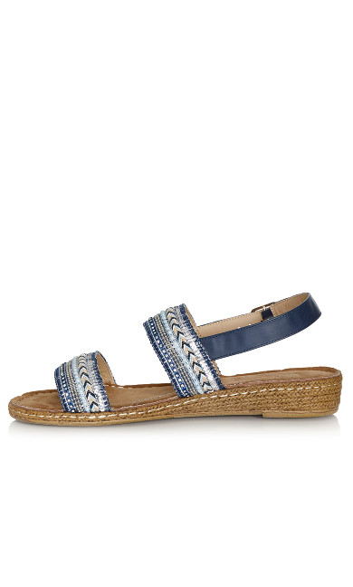 Leslie Sandal - blue