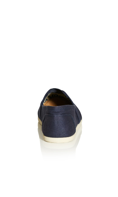 Regan Slip On - navy
