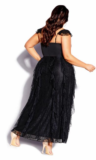 Romance Me Maxi Dress - black
