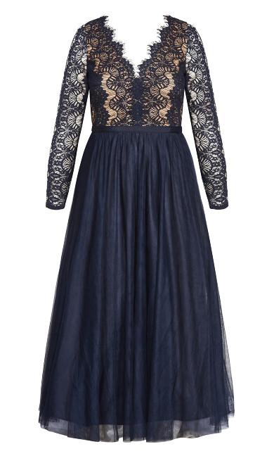 Rare Beauty Maxi Dress - navy