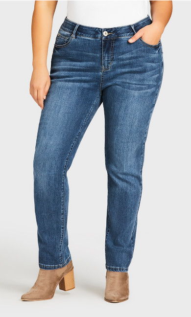 Fashion Skinny Jean Light Wash - average