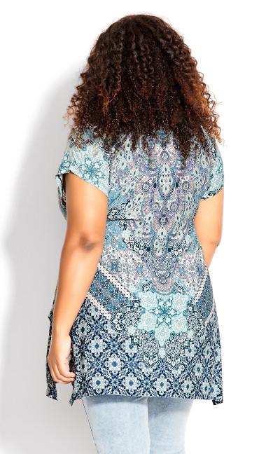 Bonnie Bling Tunic - blue