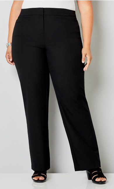 Luxe Cool Hand Slimming Pant with Tummy Control in Black