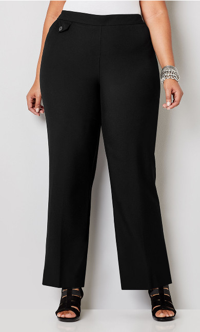 Luxe Cool Hand Curvy Pull-on Pant