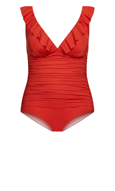 Linosa 1 Piece - grenadine