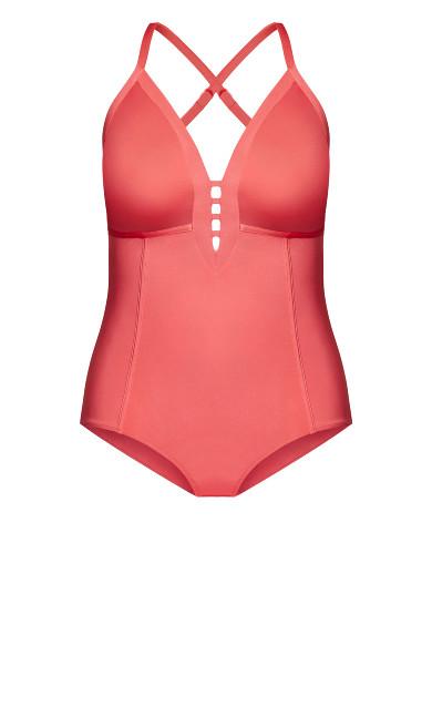 Paros 1 Piece - pink