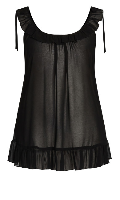 Sinfully Sweet Babydoll - black