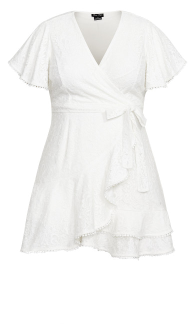 Sweet Love Lace Dress - ivory