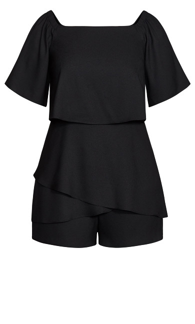 Mysterious Playsuit - black