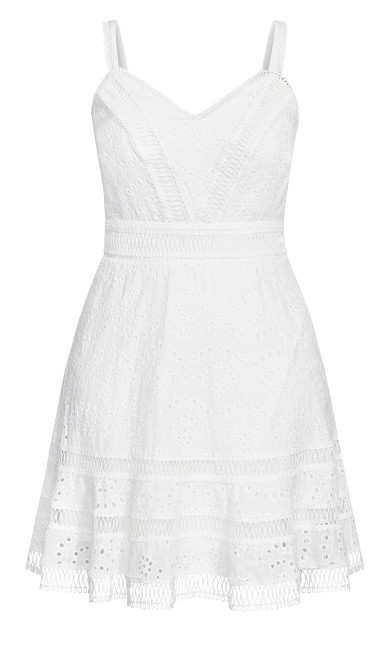 Fabricia Dress - ivory