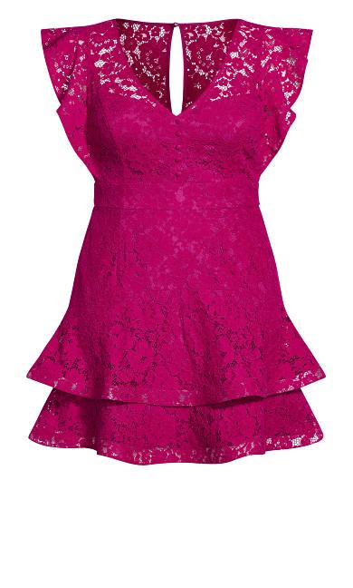 Sienna Dress - framboise
