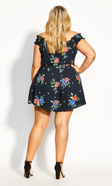 Floating Playsuit - black