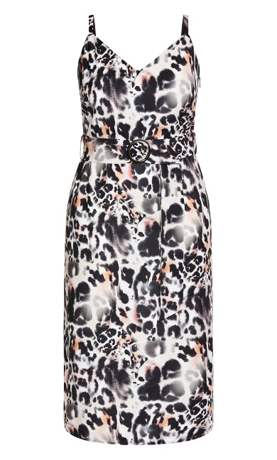 Safari Midi Dress - ecru
