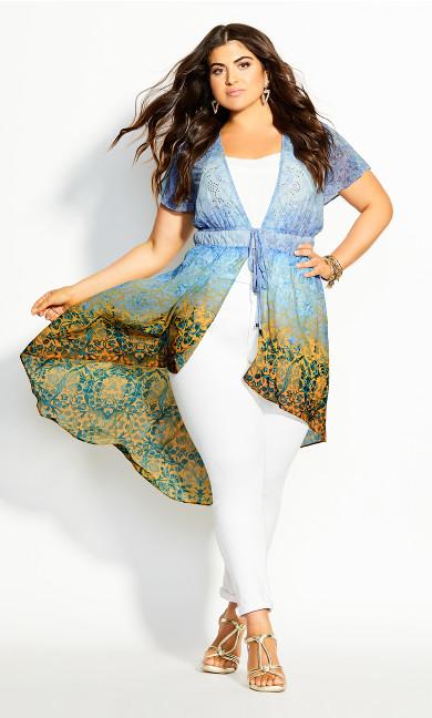 Shanika Jacket - sky