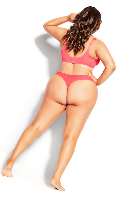 Sexy Glam Thong - pink