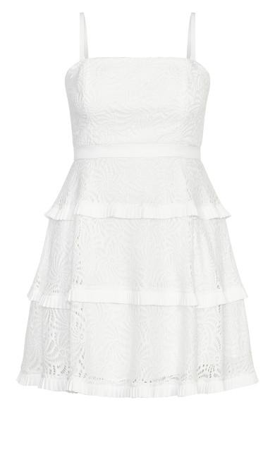 Angelic Lace Dress - ivory