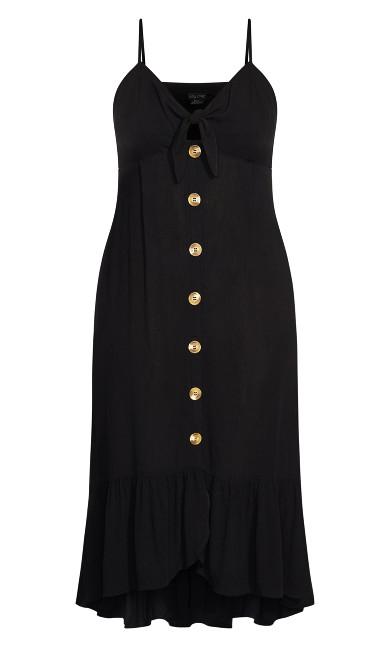 Island Love Maxi Dress - black