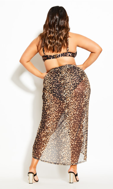 Cancun Skirt - leopard