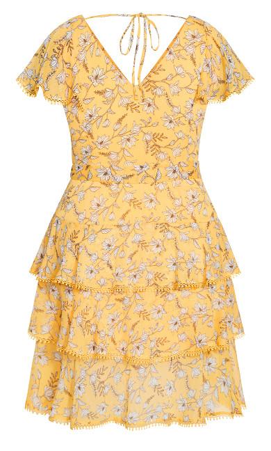 Amber Floral Dress - amber