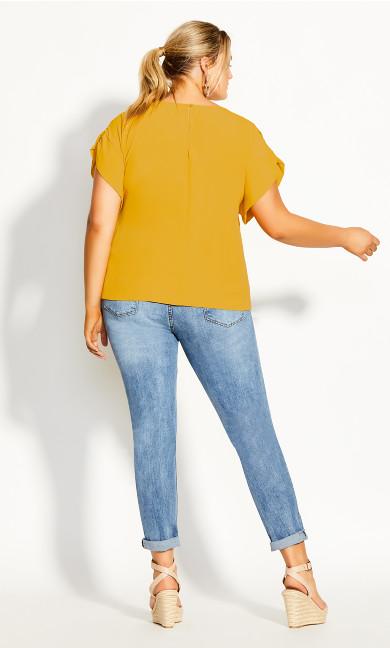 Precious Shoulder Top - amber