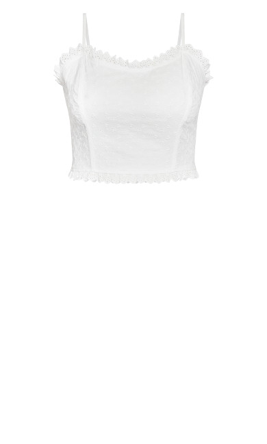 Precious Embroidery Top - ivory