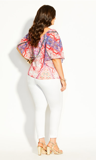 Gingelly Top - ivory