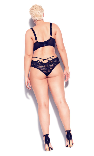 Lisette Balconette Bra - black