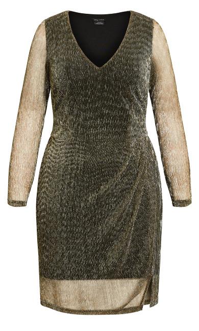 Sparkle Dress - gold