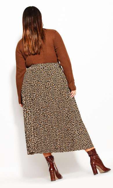 Cheetah Skirt - sand