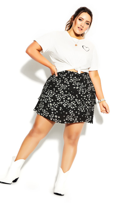 Miss Daisy Skirt - black