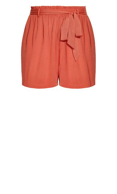 Tropical Tie Short - rust