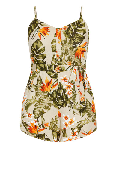 Maui Playsuit - sand