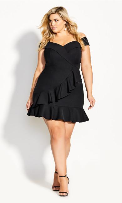 Sweet Spring Dress - black
