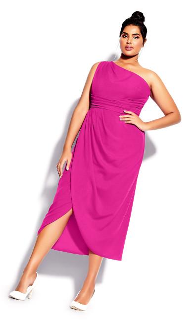 True Love Dress - flamingo