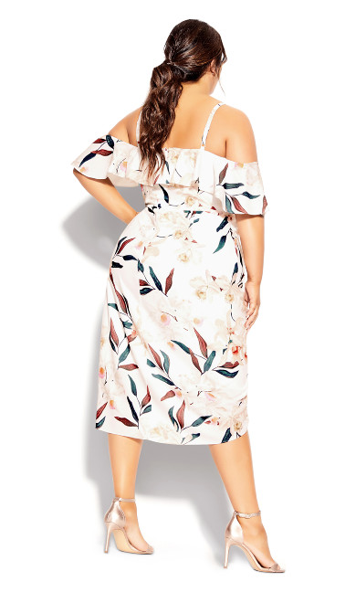 Sweet Orchid Dress - ivory