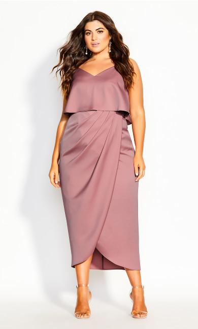 Baby Frill Dress - blush