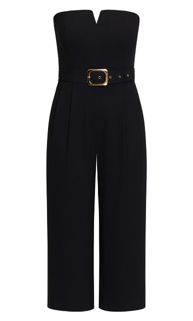 Seduce Jumpsuit - black