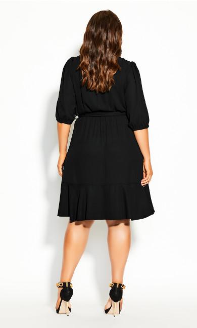 Captivate Dress - black