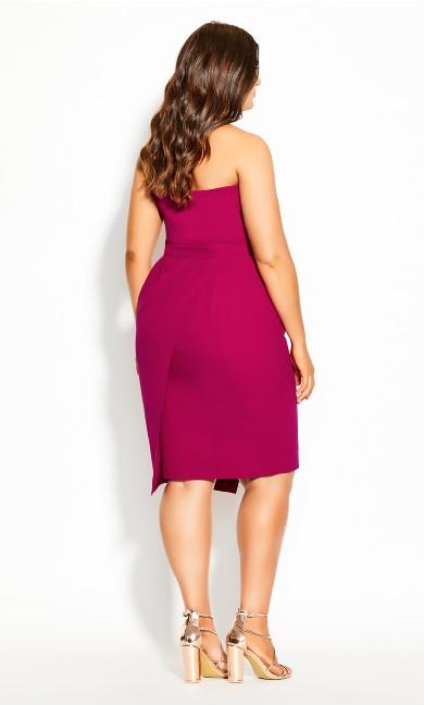 Enchant Dress - framboise