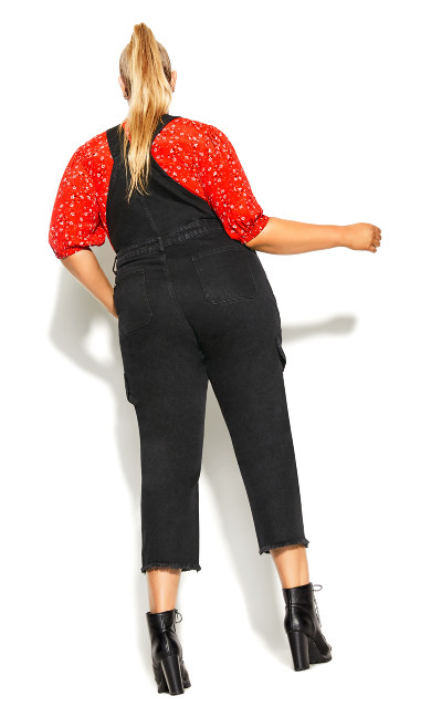 Wild Overall Jean - black