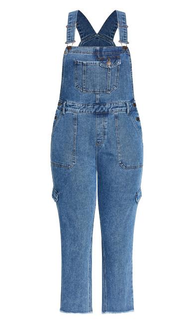 Wild Overall Jean - denim