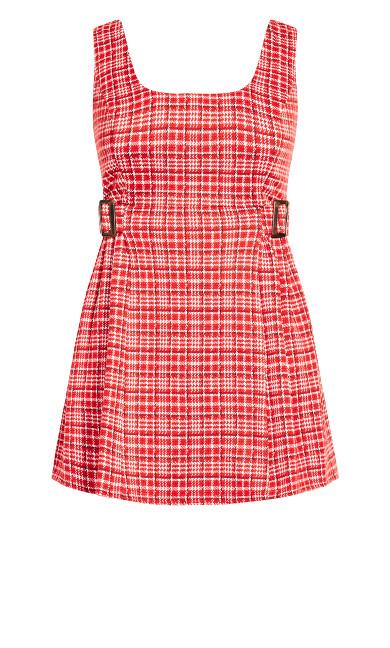 Cute Pini Dress - red
