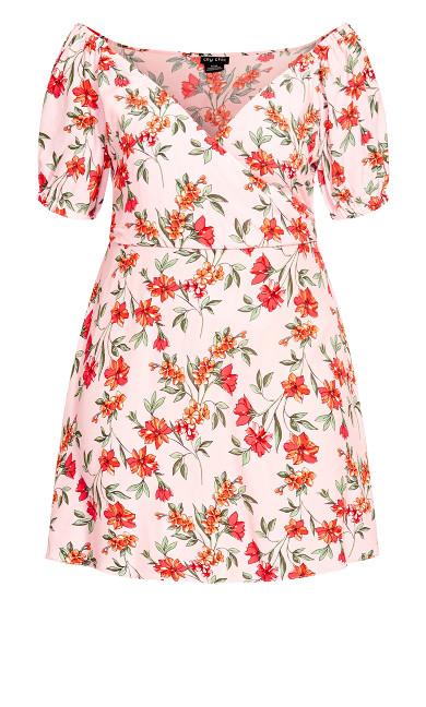 Floral Botanica Dress - pink