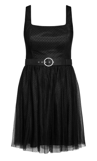 Whimsy Fun Dress - black
