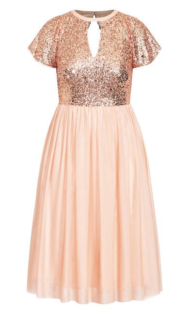 Sparkle Joy Dress - quartz