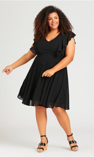 Ibiza Dress - black